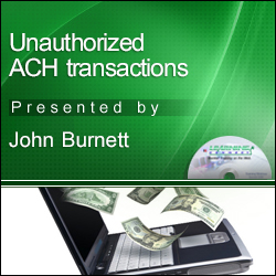 Unauthorized ACH Claims Management
