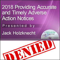 2018 Providing Accurate and Timely Adverse Action Notices