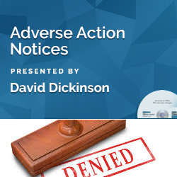 Adverse Action Notices Webinar