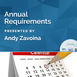 Annual Requirements