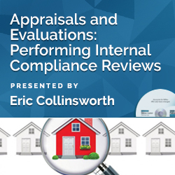 Appraisals and Evaluations: Performing Internal Compliance Revie