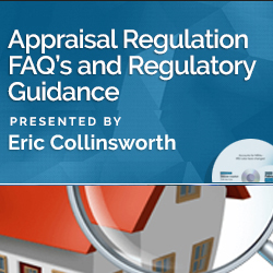 Appraisal Regulation FAQ's and Regulatory Guidance