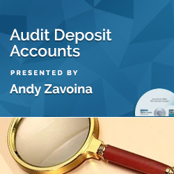 Audit Deposit Accounts
