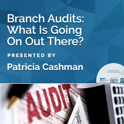 Branch Audits: What Is Going On Out There?