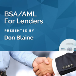 BSA/AML For Lenders