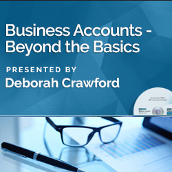 Business Accounts—Beyond the Basics