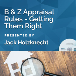 B & Z Appraisal Rules - Getting Them Right - Click Image to Close