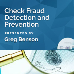 Check Fraud Detection and Prevention