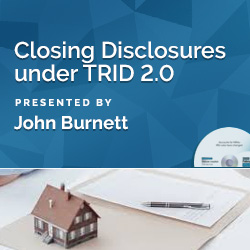 Closing Disclosures under TRID 2.0