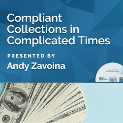 Compliant Collections in Complicated Times