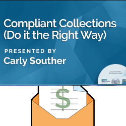 Compliant Collections (Do it the Right Way)