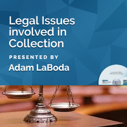 Legal Issues involved in Collection