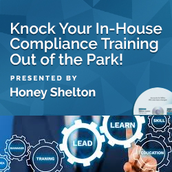 Knock Your In-House Compliance Training Out of the Park!