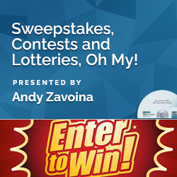 Sweepstakes, Contests and Lotteries, Oh My!