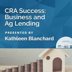 CRA Small Business and Small Farm Lending – Examination and Annu