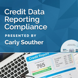 Credit Data Reporting Compliance