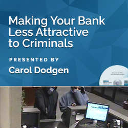 Making Your Bank Less Attractive to Criminals