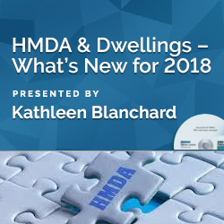 HMDA and Dwellings – What's New for 2018