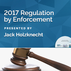 2017 Regulation By Enforcement