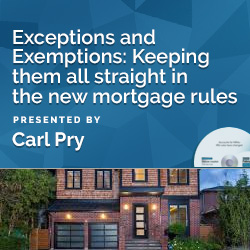 Exceptions and Exemptions: Keeping them all straight in the new