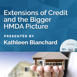 Extensions of Credit and the Bigger HMDA Picture