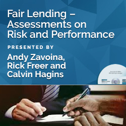 Fair Lending – Assessments on Risk and Performance