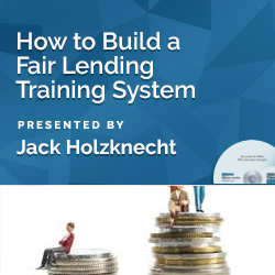 How to Build a Fair Lending Training System