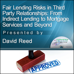 Fair Lending Risks in Third Party Relationships