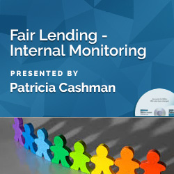 Fair Lending - Internal Monitoring