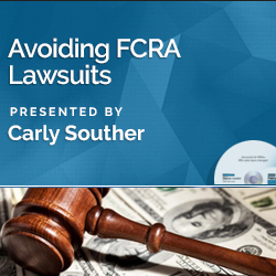 Avoiding FCRA Lawsuits