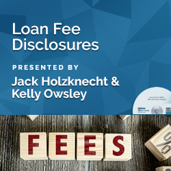 Loan Fee Disclosures