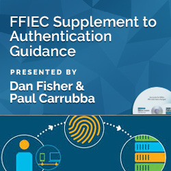 FFIEC Supplement to Authentication Guidance