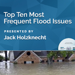 Top Ten Most Frequent Flood Issues