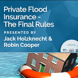 Private flood Insurance - The Final Rules