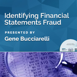 Identifying Financial Statements Fraud