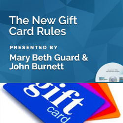The New Gift Card Rules