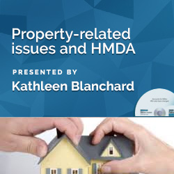 Property-related issues and HMDA