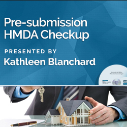 Pre-submission HMDA Checkup