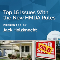 Top 15 Issues With the New HMDA Rules