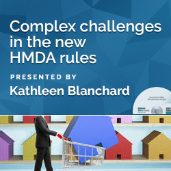 Complex challenges in the new HMDA rules