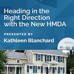 Heading in the Right Direction with the New HMDA