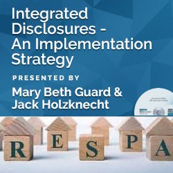 Integrated Disclosures - An Implementation Strategy