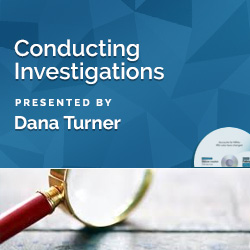 Conducting Investigations