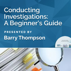 Conducting Investigations: A Beginner's Guide