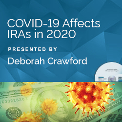 Alert! COVID-19 Affects IRAs in 2020