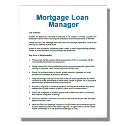 Mortgage Loan Manager