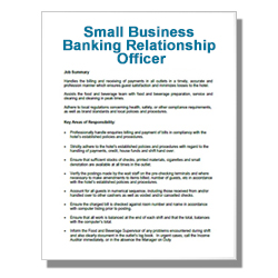 Small Business Banking Relationship Officer