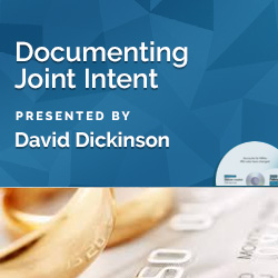 Documenting Joint Intent