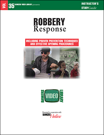 BVL Vol. 35: Robbery Response - Click Image to Close