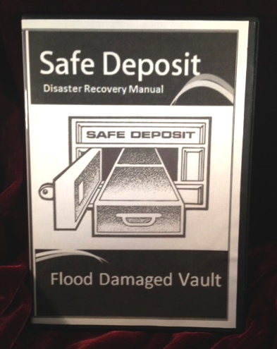 """FLOODED VAULT"" Disaster Recovery Manual (on CD) - Click Image to Close"